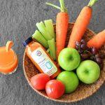 La combinación de alimentos de distintos colores crea un jugo más completo en nutrientes.
