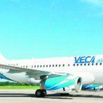 Veca Airlines posee actualmente en operación tres aviones Airbus A319, y prevé tener dos más para finales del año.