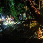 Once menores de edad entre los 49 muertos en el accidente de un autobús en Brasil