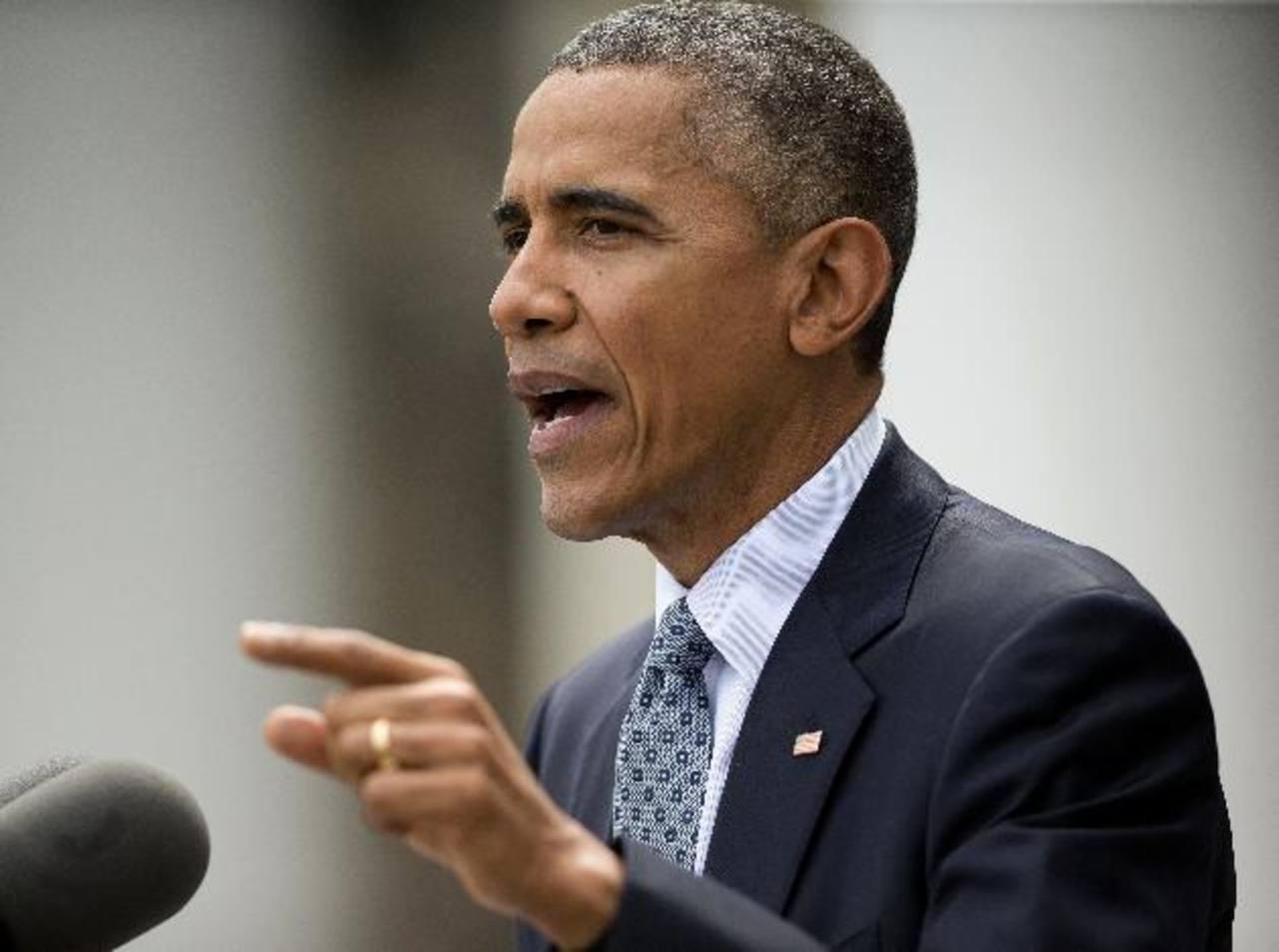 El presidente Barack Obama quiere liderar el acuerdo.