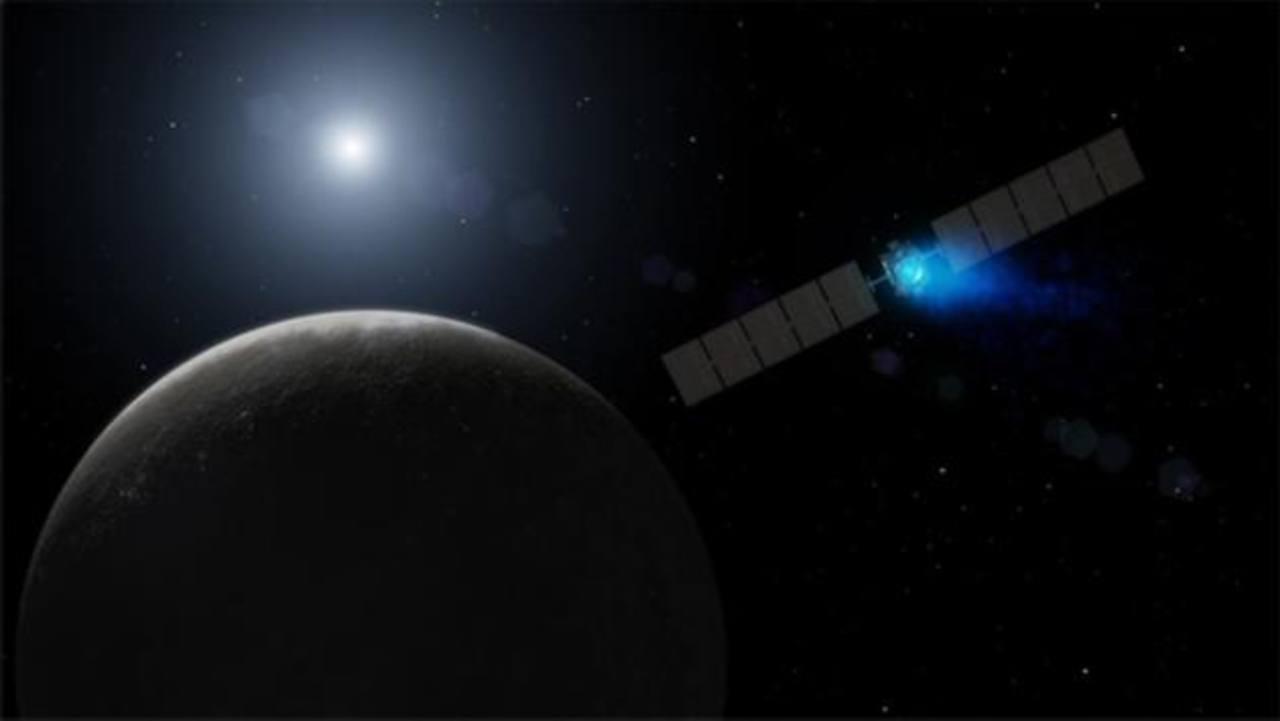Una nave espacial de la NASA llega por primera vez a un planeta enano