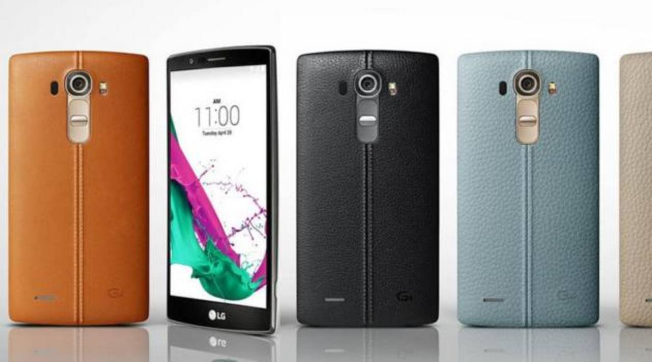 "LG presentó teléfono inteligente ""G4"""