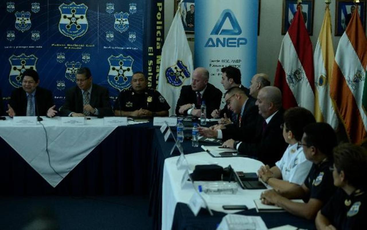 El equipo de Rudolph Giuliani estuvo en El Salvador en enero pasado para analizar la delincuencia en el país.