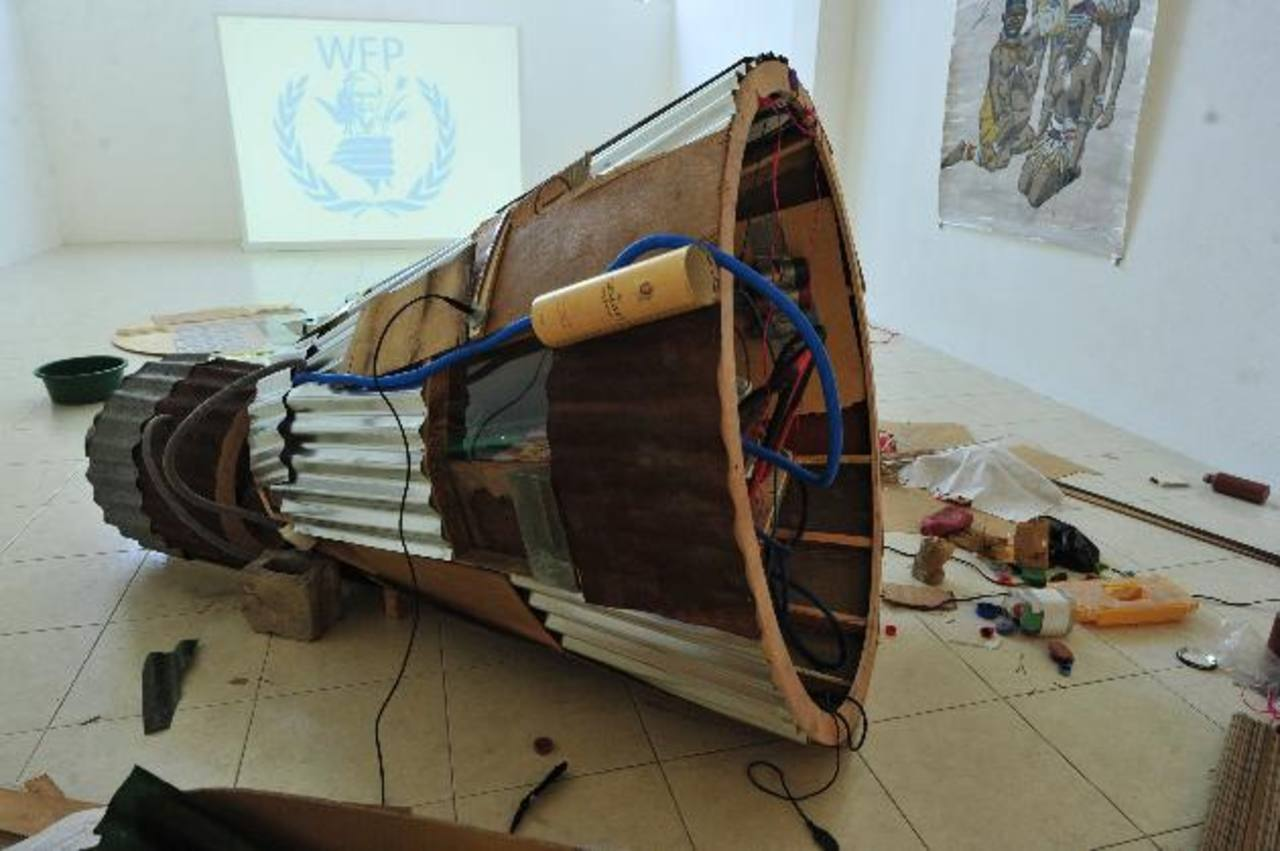 El Marte es una de las entidades que más apoyo ha brindado al arte contemporáneo salvadoreño. foto EDH / archivo