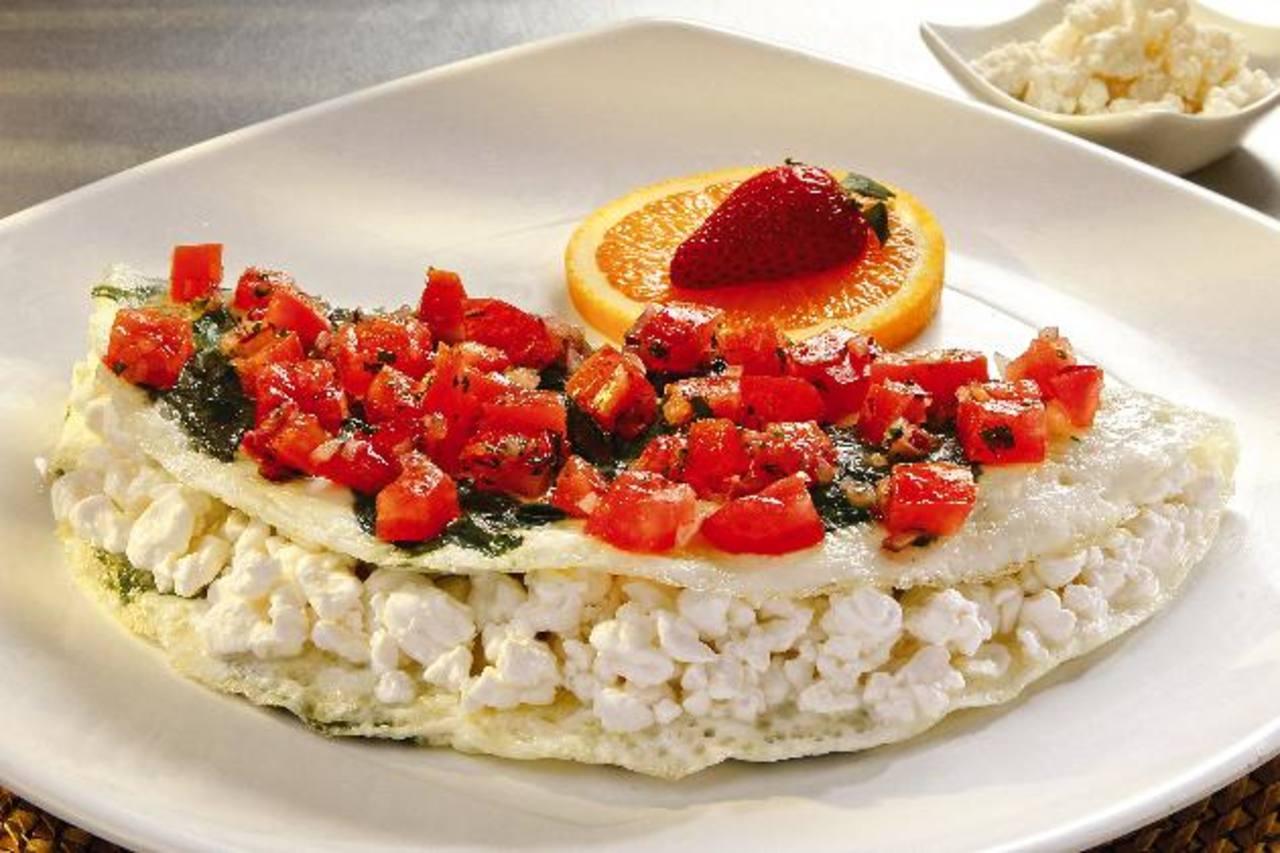La Frittata es uno de los nuevos desayunos bajos en calorías. FOTO EDH / Cortesía