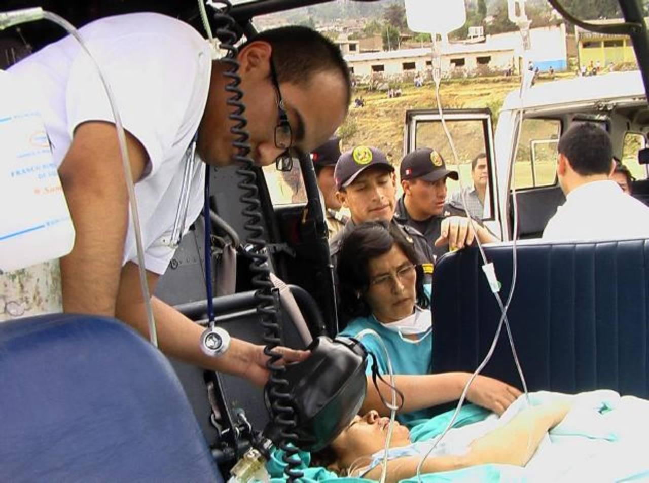 Al menos 36 muertos y 70 heridos en cuádruple choque en Perú