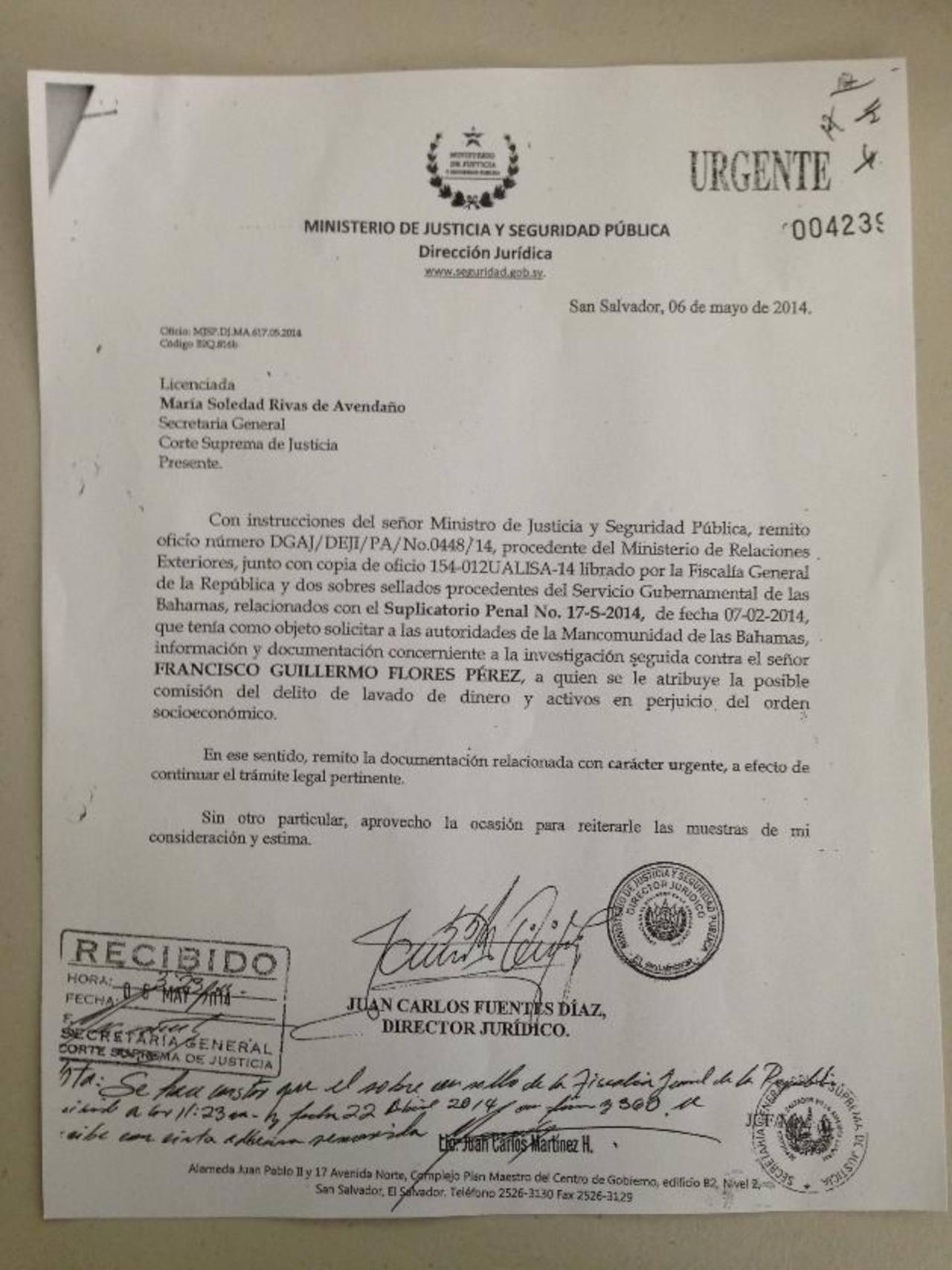 Violan y extravían correspondencia de la Fiscalía en caso Flores