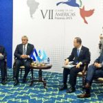 Presidentes del Triángulo Norte se reunieron con Ban Ki moon