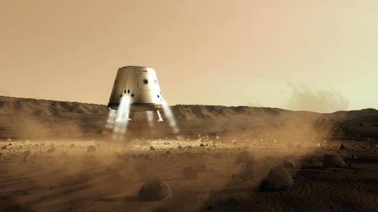 La temperatura media en el planeta rojo es de 55 grados bajo cero, la atmósfera está compuesta en un 95 % por dióxido de carbono y el viaje desde la Tierra hasta Marte duraría unos siete u ocho meses. Foto EDH/ Archivo