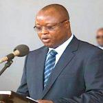 El vicepresidente de Sierra Leona, Sam Sumana.