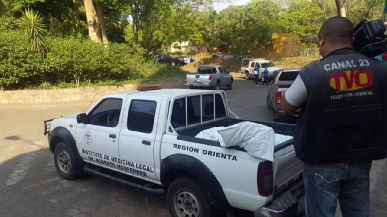 Autoridades esperan análisis forenses para saber la causa de la muerte. foto edh/TOMADA DE @tvocanal23
