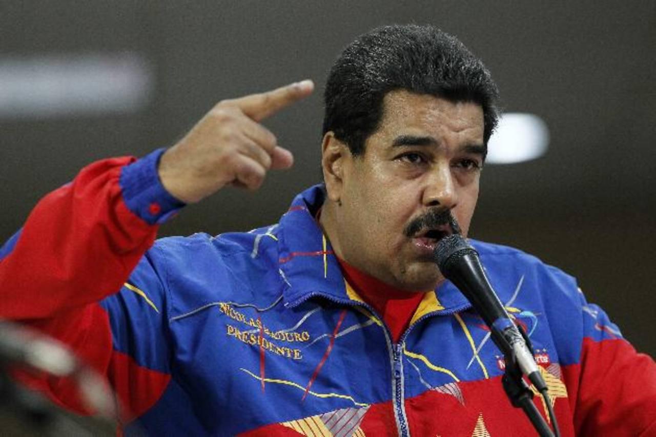 Maduro habla en un foro en la Cumbre de los Pueblos el 11 de abril, paralela a la de las Américas . Foto eDH