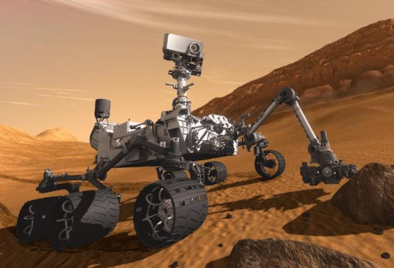 El Curiosity encuentra en Marte nitrógeno fijado en sedimentos