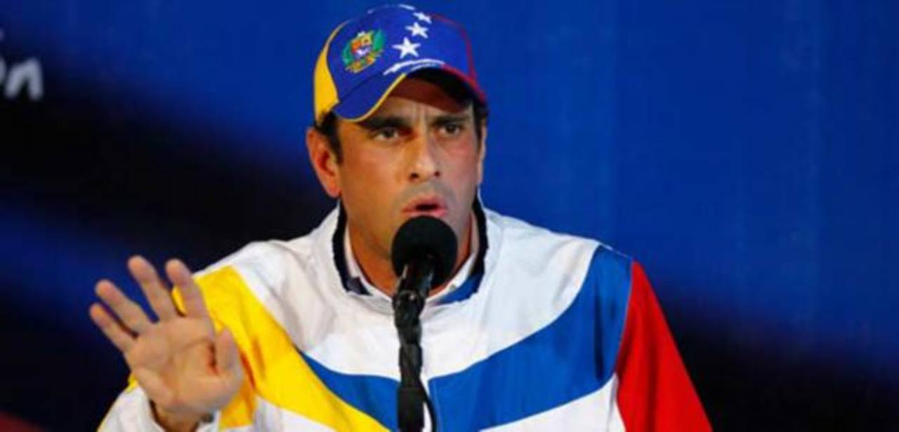Henrique Capriles lamentó que el régimen chavista no se ocupe de los problemas de Venezuela.