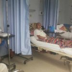 Elio Mauricio Pérez tiene leucemia (cáncer en la sangre), está ingresado en el hospital Rosales a la espera de poder comprar la medicina para su terapia. Foto EDH / Yamileth Cáceres