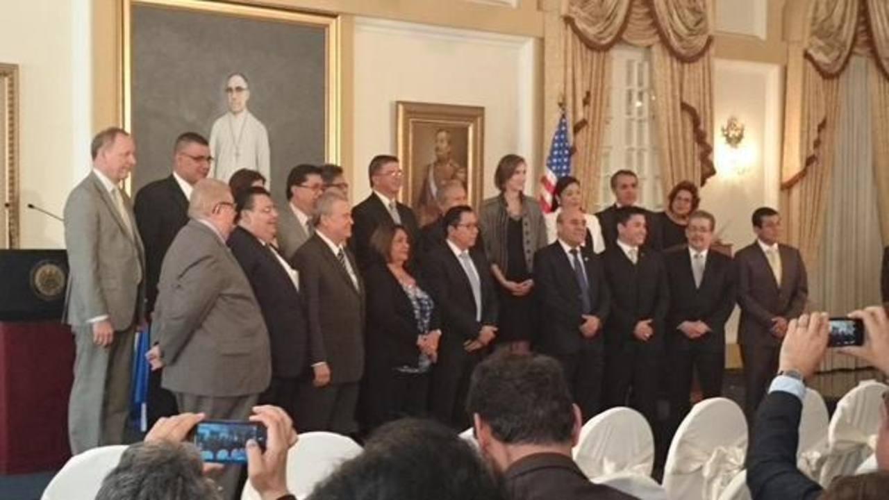 Este jueves fue juramentada la junta directiva del Fomilenio II en un acto desarrollado en Casa Presidencial.