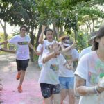 "Voluntarios participan en ""The Color Run"""
