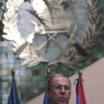 Serguéi Lavrov, ministro ruso de Relaciones Exteriores.