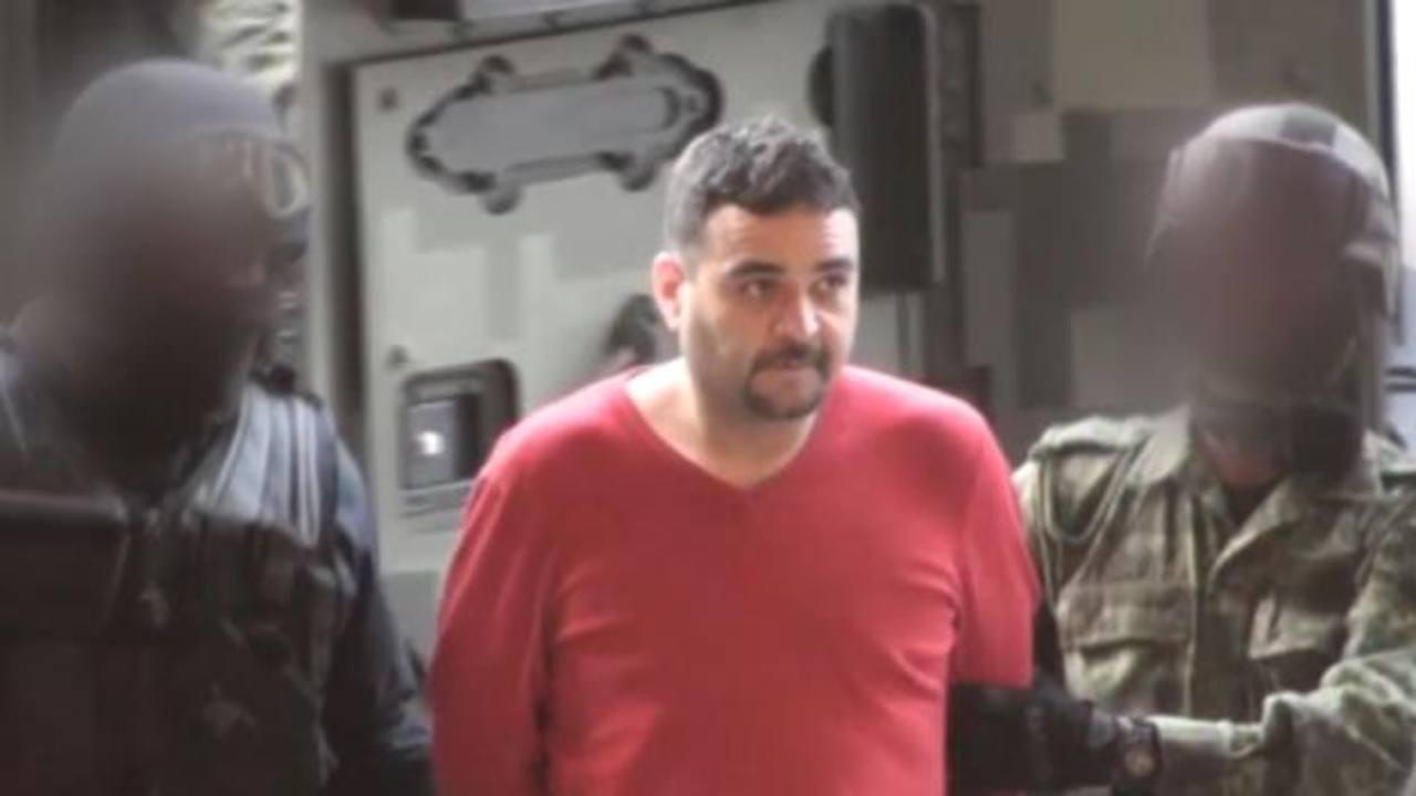 Las fuerzas de seguridad capturaron en el norte de México a Jesús Salas Aguayo (c). foto edh / internet