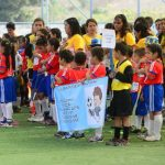 En la Residencial Libertad, Tonacatepeque, se realizó el torneo relámpago. Foto EDH / m. Cáceres