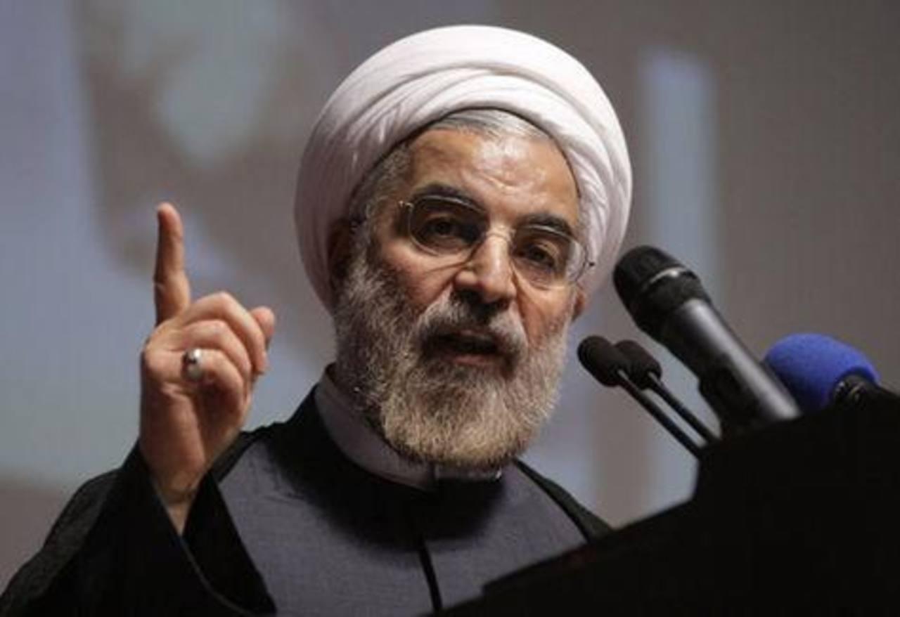 El presidente de Irán, Hassan Rohani. foto edh /tomada de internet