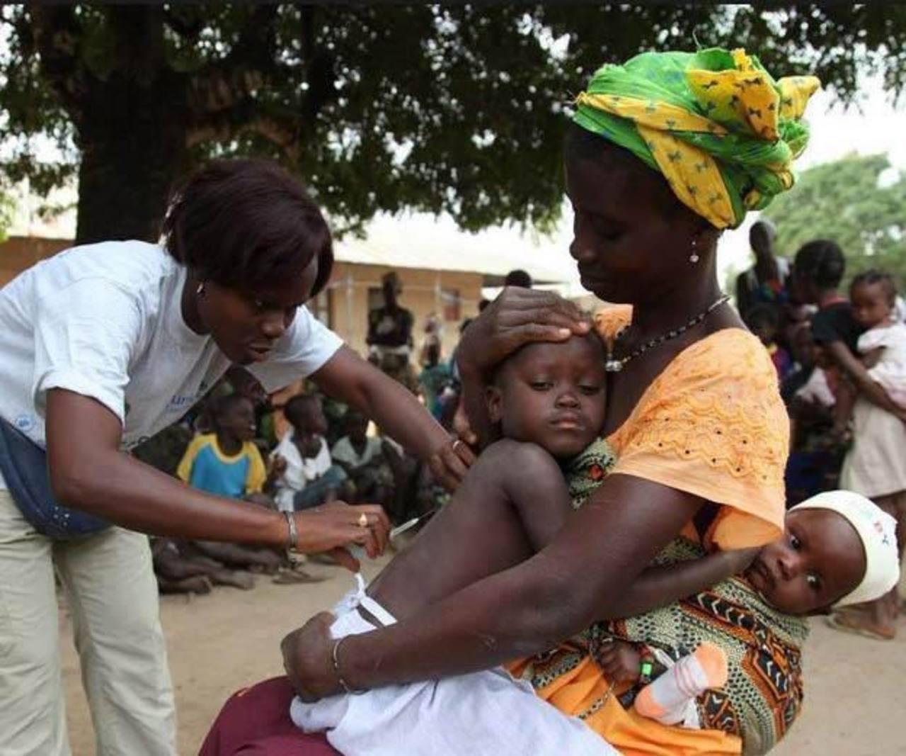 Es la mayor campaña de vacunación desde el inicio del brote para proteger a millones de niños contra enfermedades.