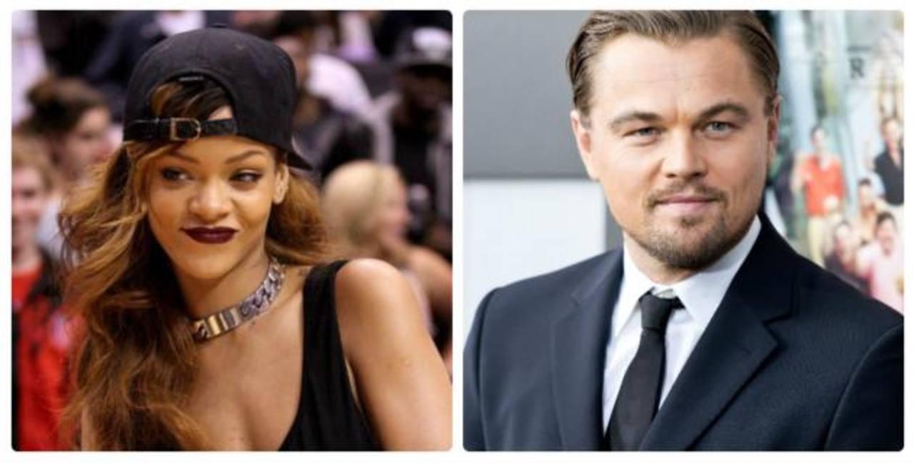 DiCaprio niega romance con Rihanna