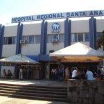 Tras resultar lesionado, el agente fue trasladado al Hospital Regional del ISSS en Santa Ana.