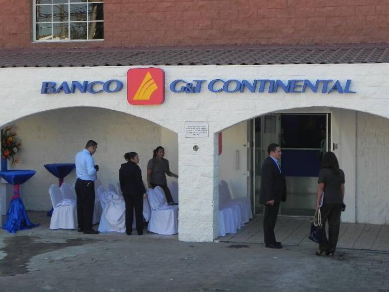 Banco G&T Continental, El Salvador, ya tiene casi una década de haber incursionado en el país. FOTO EDH / Cortesía