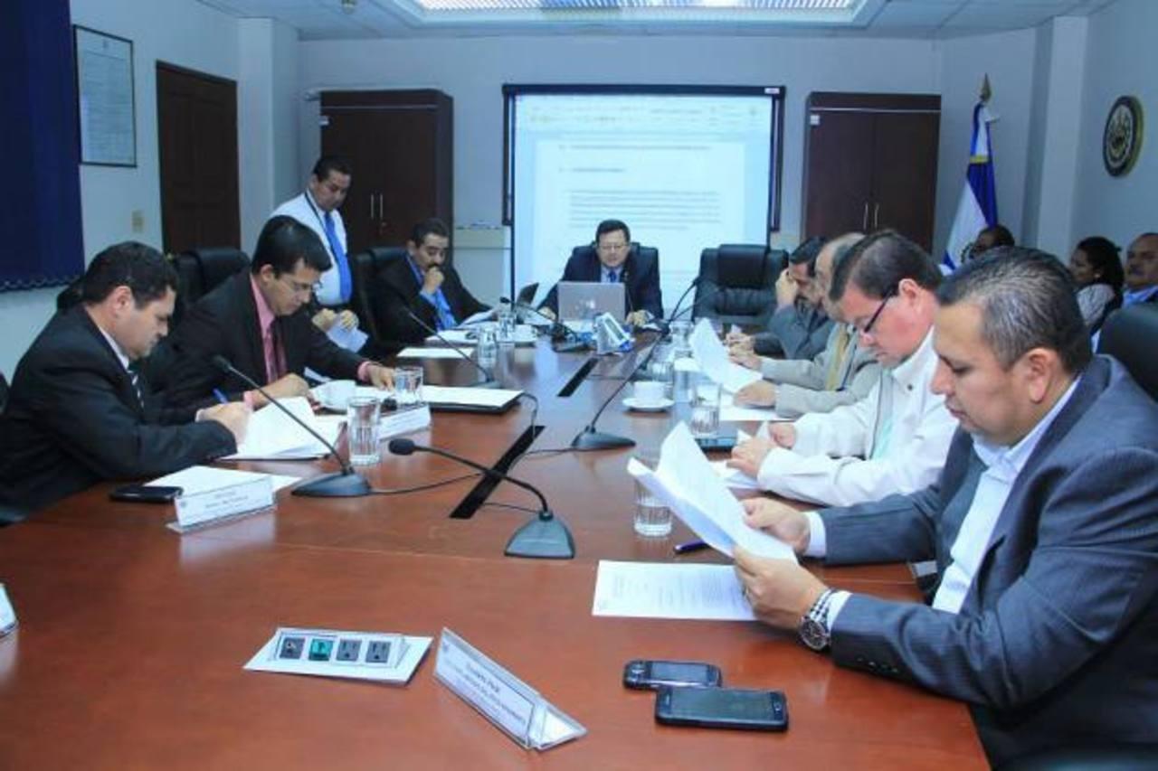 La Comisión de Seguridad de la Asamblea dictamina a favor del proyecto de Ley Antiextorsión.