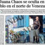El periódico El Mundo publicó las fotografías del terrorista José Ignacio de Juana Chaos, descubierto regentando una bodega en la población venezolana de Chichiriviche, el pasado 16 de febrero. Foto EDH / internet
