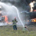 Suben a 9 los muertos por explosión de camión, en México