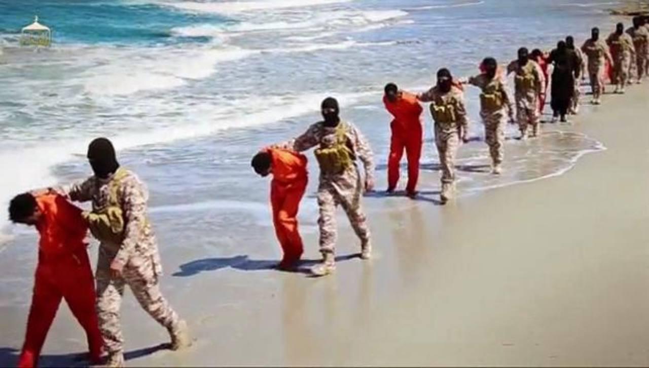 Yihadistas difunden un vídeo de la ejecución de 16 cristianos etíopes