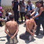 La PNC desarrolló un operativo en San Juan Opico donde preliminarmente reportaban la detención de 14 sospechosos.