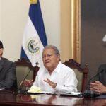 Sánchez Cerén pide a Congreso de EE.UU. fondos para frenar migraciones