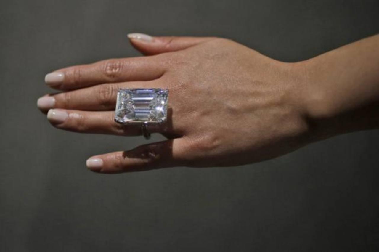 Pagarían $25 millones por diamante blanco en subasta