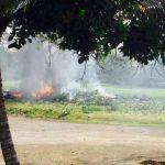Siete muertos al caer avioneta en República Dominicana