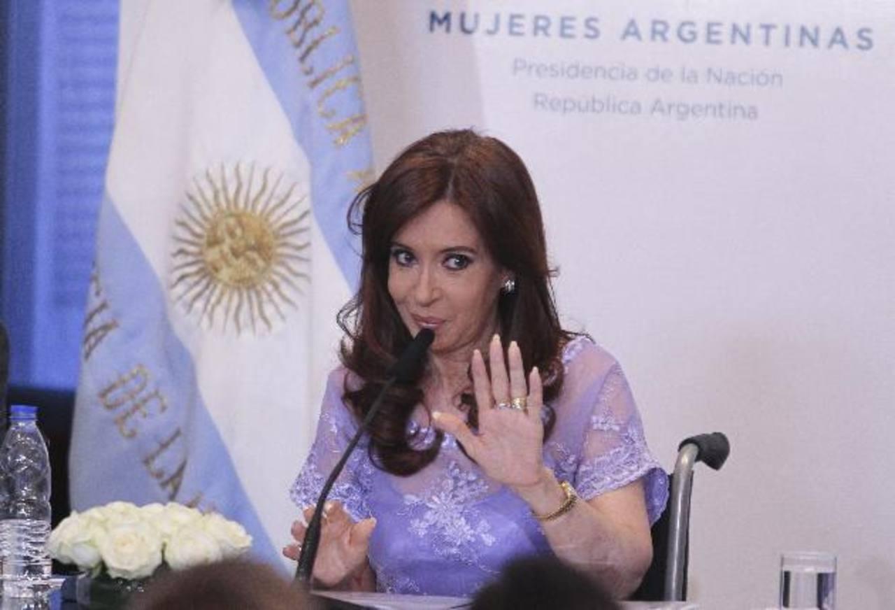 Ratifican denuncia de Nisman contra Cristina Fernández