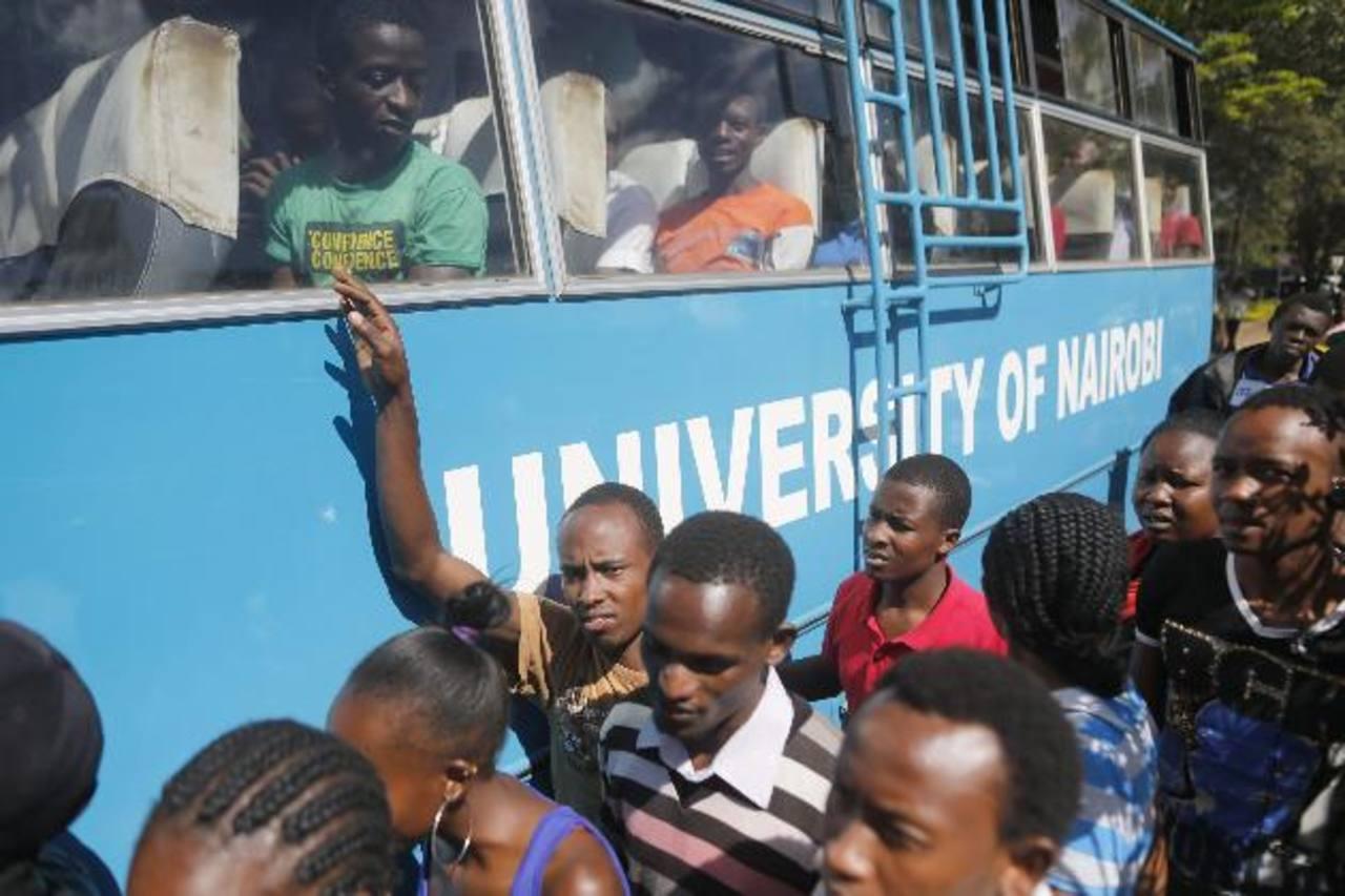 Un estudiante muerto y 141 heridos tras explosión en universidad en Kenia