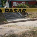 Escena de homicidio de un joven en colonia Altos del Cerro, Soyapango. /