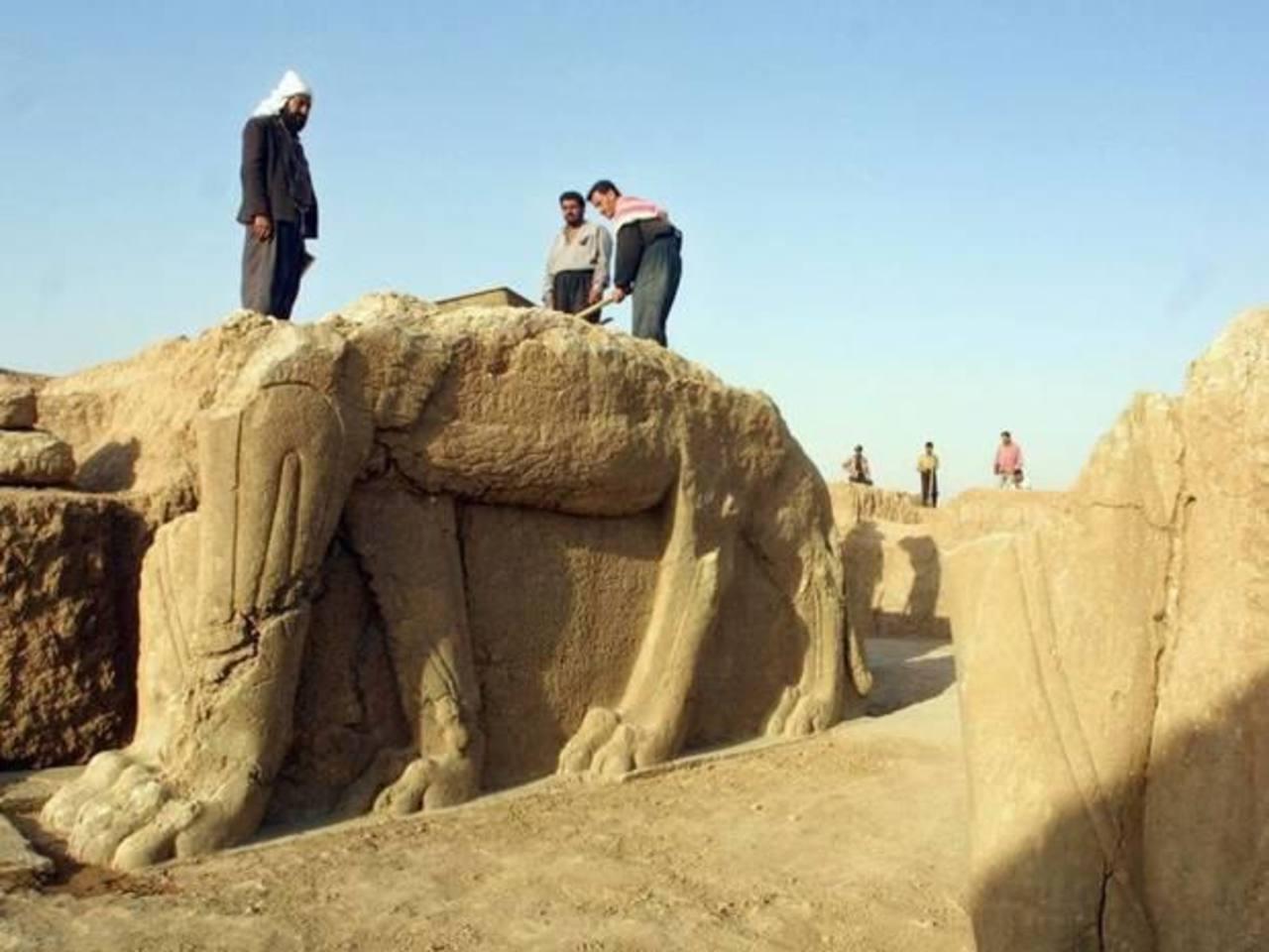 El Estado Islámico arrasó con la ciudad Siria de Nimrud.