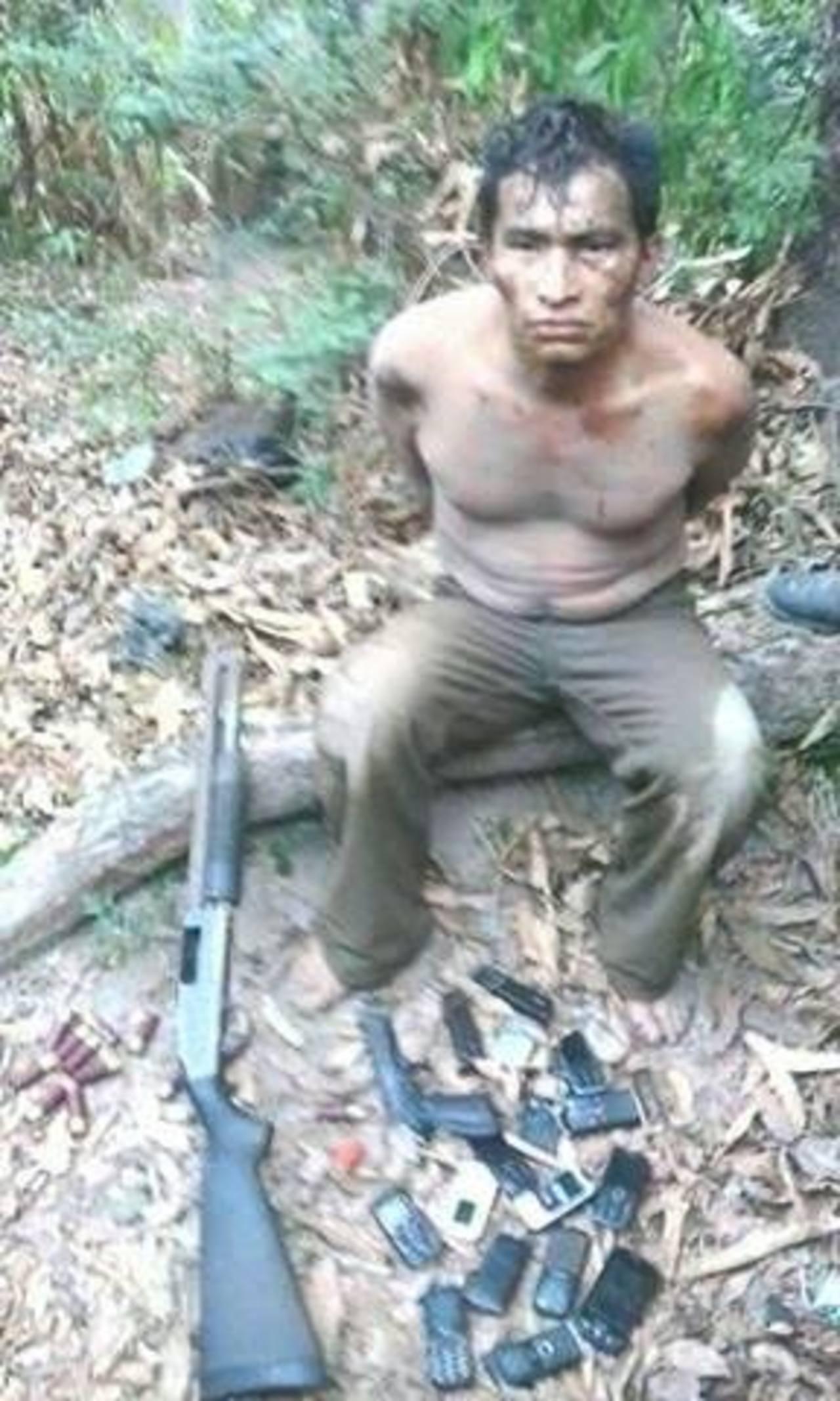 Este es el sospechoso detenido. Foto EDH/Héroe Azul