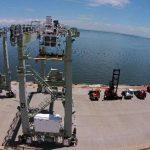 El puerto La Unión fue inaugurado hace siete años, desde entonces casi no opera. foto edh /archivo