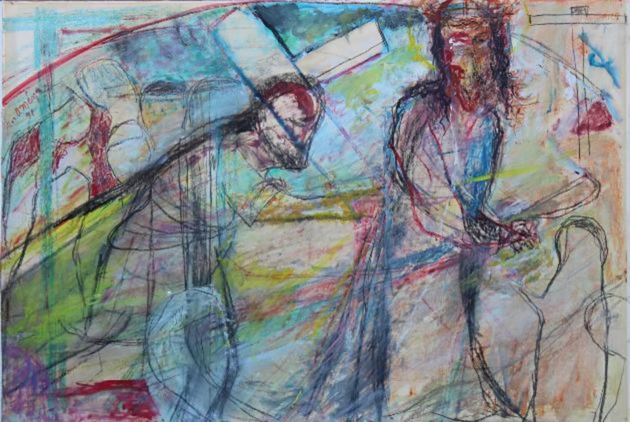 """Arte religioso en """"El Vía Crusis"""", de Rosa Mena Valenzuela."""