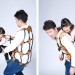 AthleTitti, el chaleco que convierte al usuario en parque infantil
