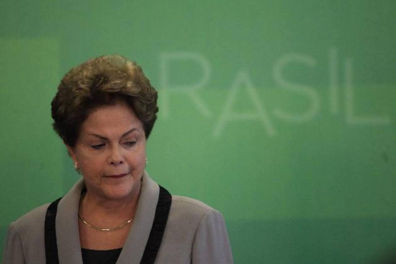 El pasado domingo, más de un millón y medio de personas marcharon contra la gobernante Dilma Rousseff, en Brasil. foto edh / efe
