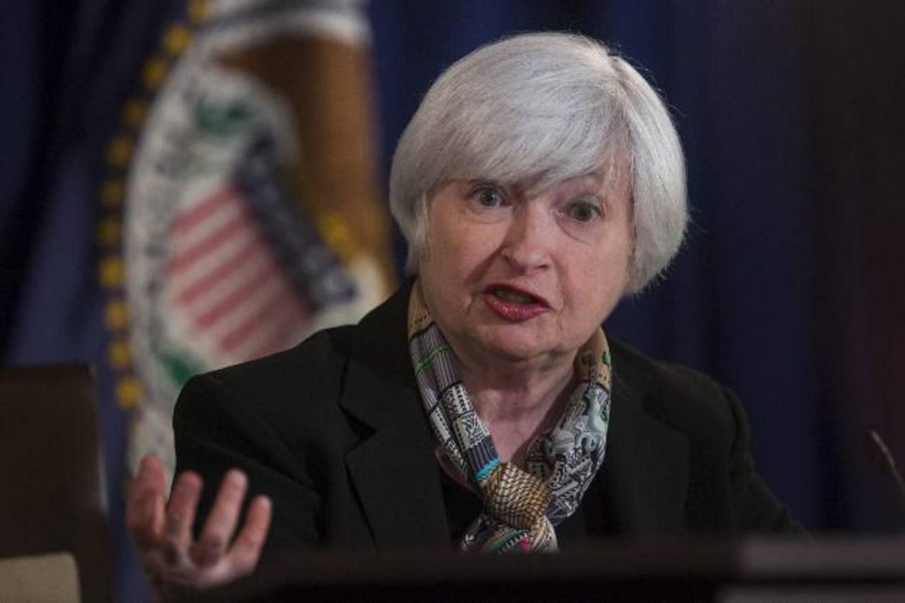 La presidenta de la Fed, Janet Yellen, anuncio que analizarán alza de interés. foto edh / Archivo