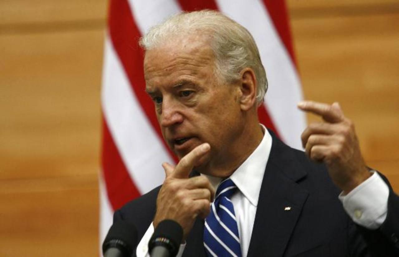 El vicepresidente de Estados Unidos, Joseph Biden.