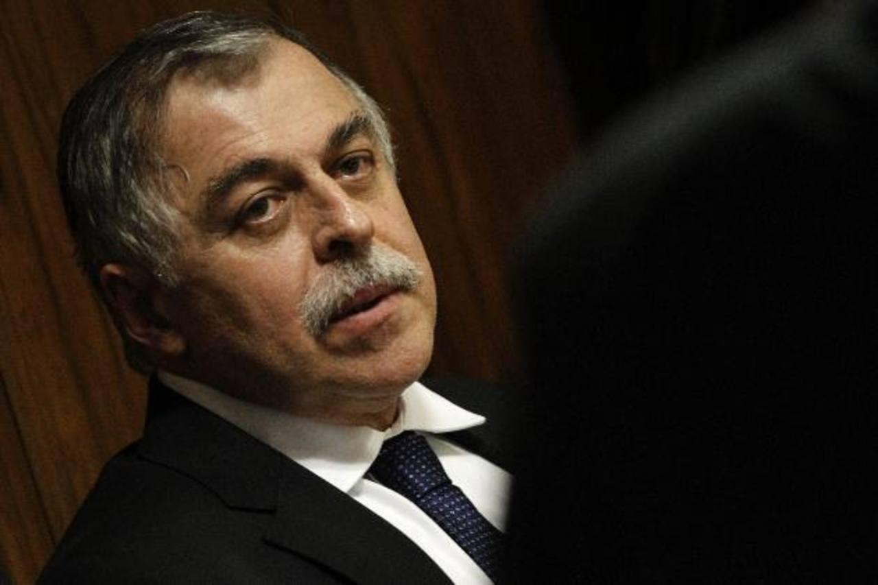 El exdirector de Abastecimiento de Petrobras, Paulo Roberto Costa, en una fotografía de septiembre de 2014 durante una comparecencia ante parlamentarios en Brasilia. Foto EDH /EFE