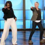 Michelle Obama sorprende bailando Uptown Funk en show de Ellen